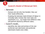 guiard s model of bimanual skill