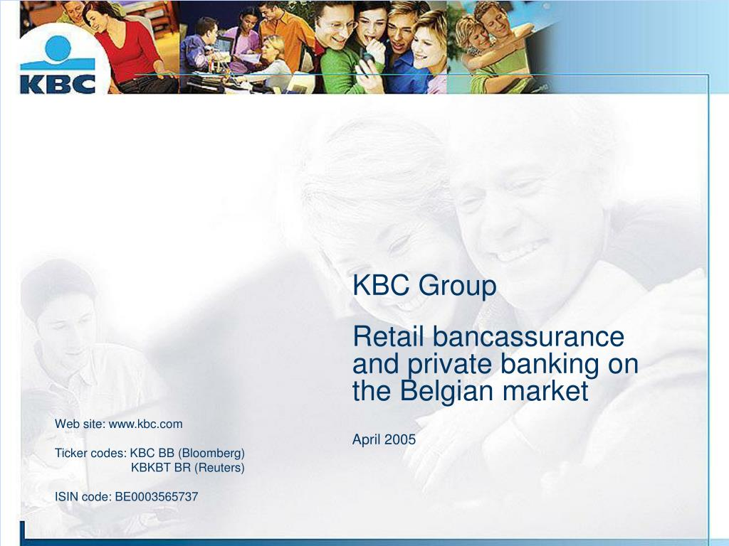 kbc group retail bancassurance and private banking on the belgian market april 2005 l.