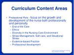 curriculum content areas12