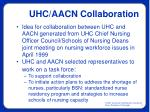uhc aacn collaboration