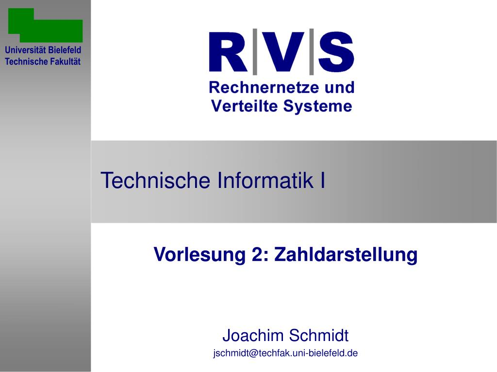 technische informatik i l.