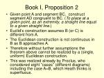book i proposition 2