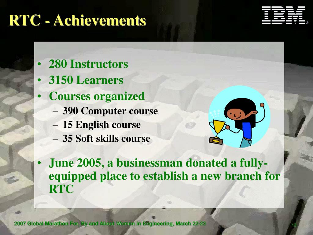 RTC - Achievements