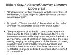 richard gray a history of american literature 2004 p 435