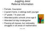 juggling jessi referral information