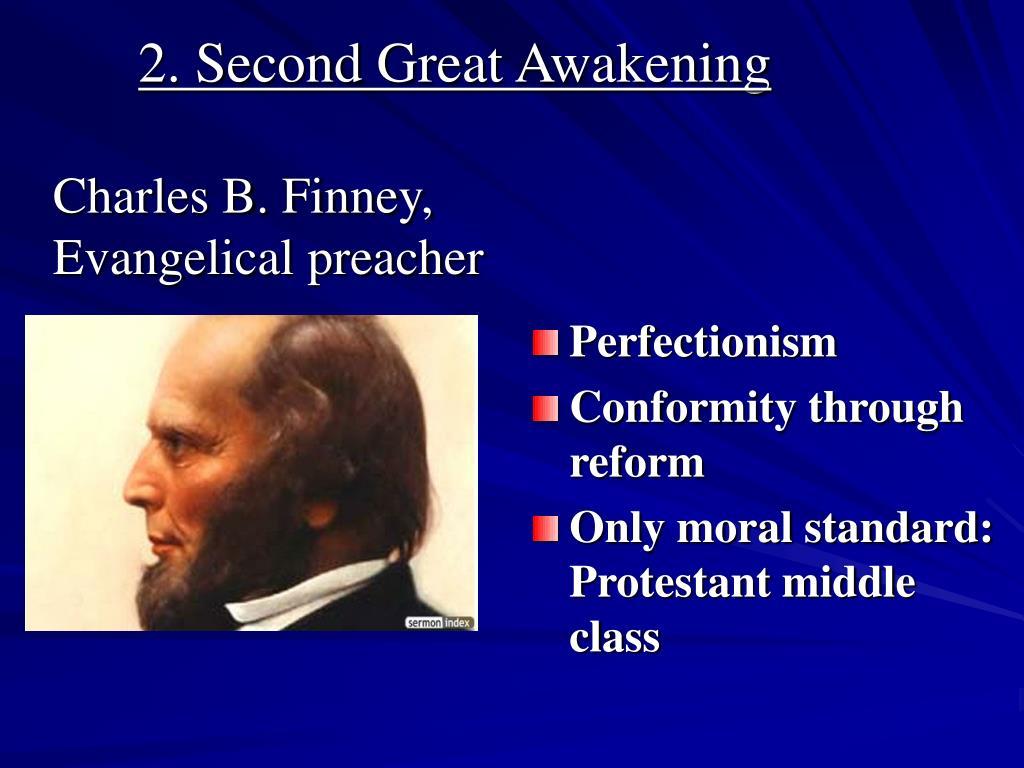 2. Second Great Awakening