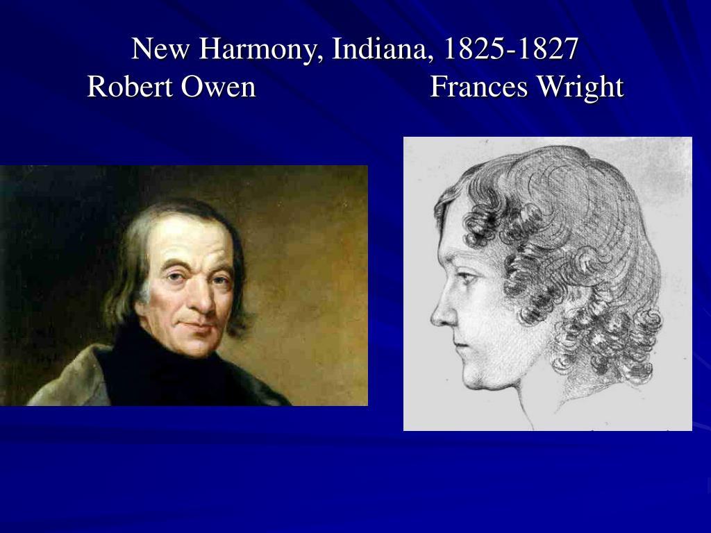 New Harmony, Indiana, 1825-1827
