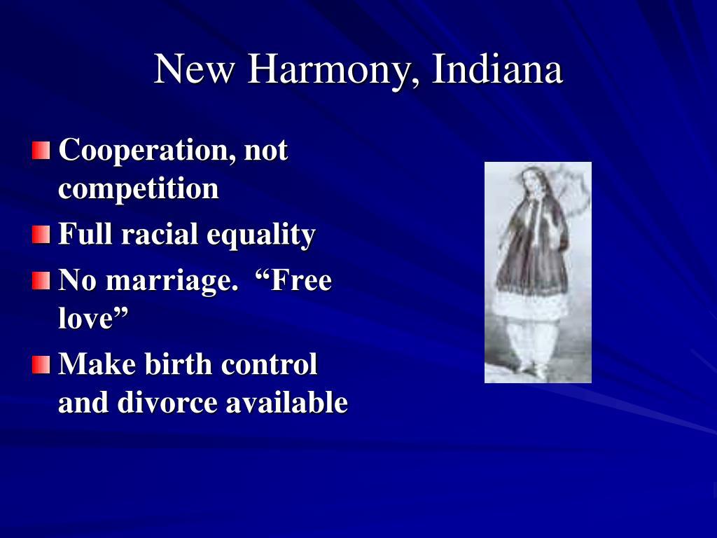 New Harmony, Indiana