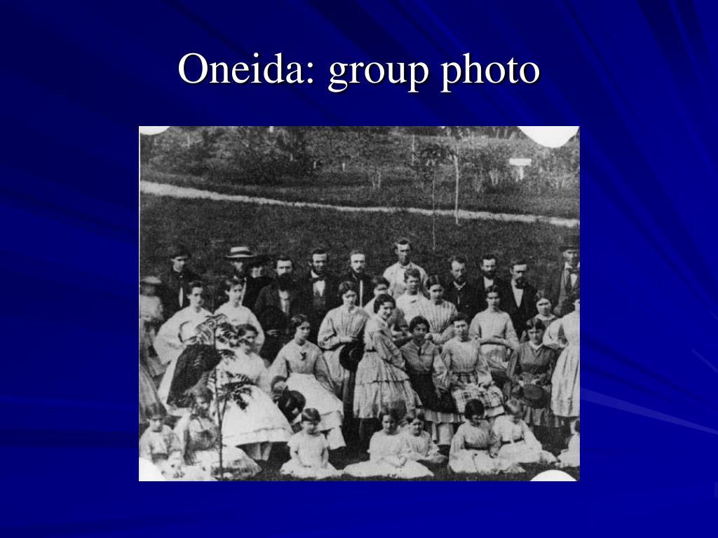 Oneida: group photo
