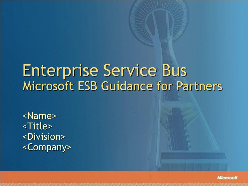 enterprise service bus l.