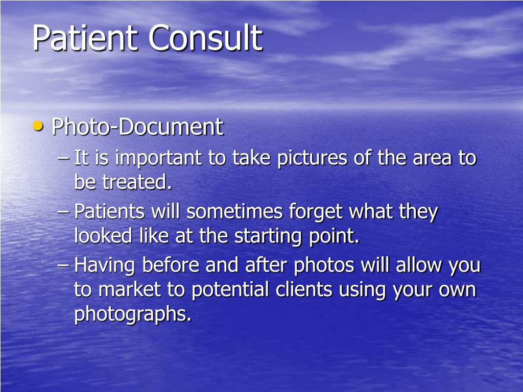 Patient Consult