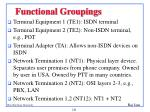 functional groupings