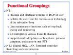 functional groupings11