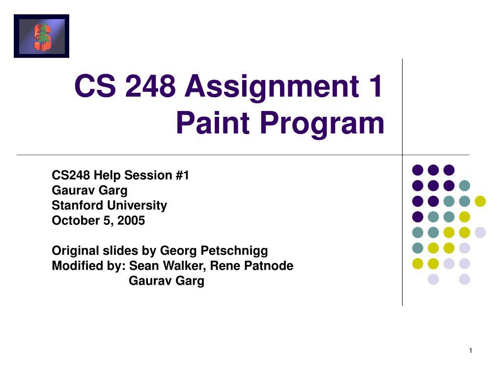 cs 248 assignment 1 paint program l.