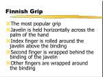 finnish grip