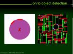 on to object detection24