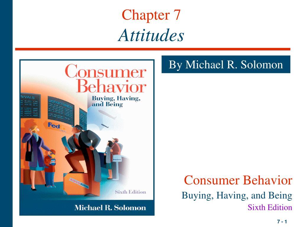 chapter 7 attitudes l.