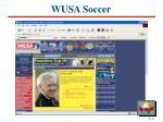 wusa soccer