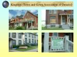 kingston town and gown association of ontario
