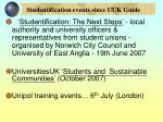 studentification events since uuk guide18