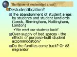 the future of studentified areas32