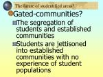 the future of studentified areas34