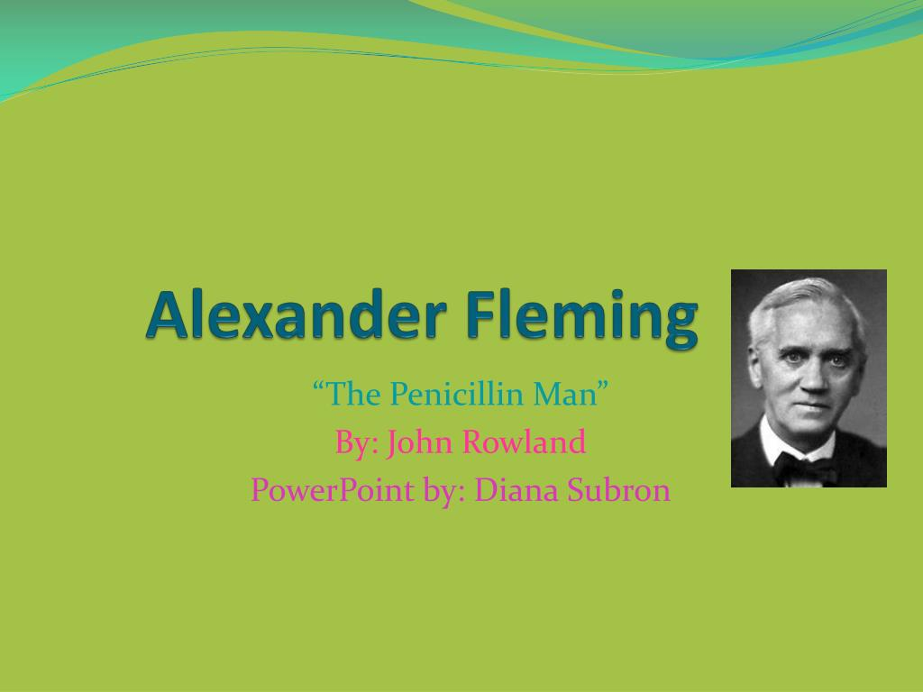 alexander fleming l.