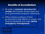 benefits of accreditation44