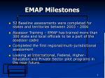 emap milestones6