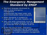 the emergency management standard by emap8