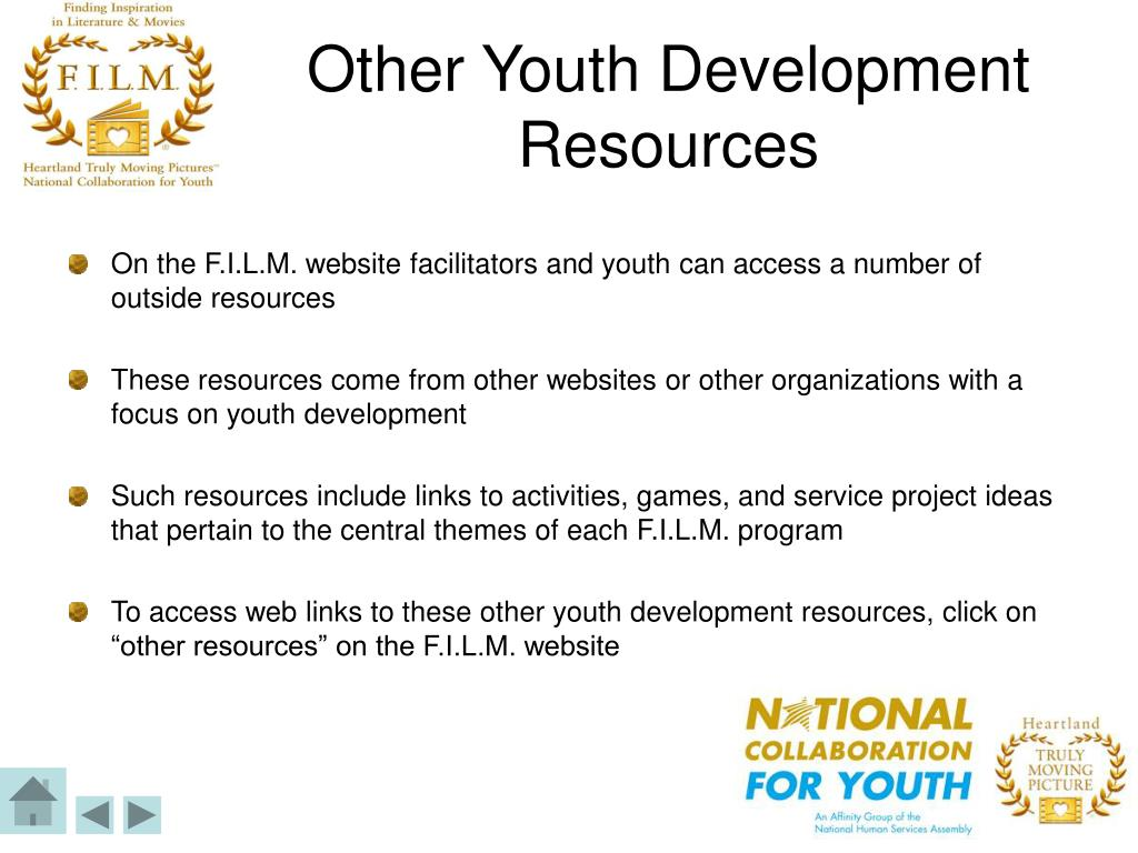 Other Youth Development Resources