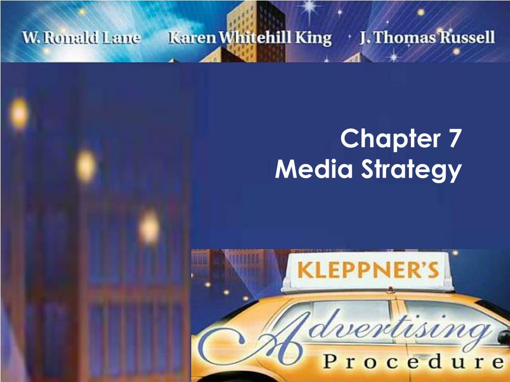 chapter 7 media strategy l.