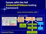 issues with the full embeddedfitnesse testing framework