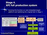 stage 4 xpi full production system