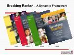 breaking ranks a dynamic framework