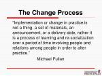the change process22
