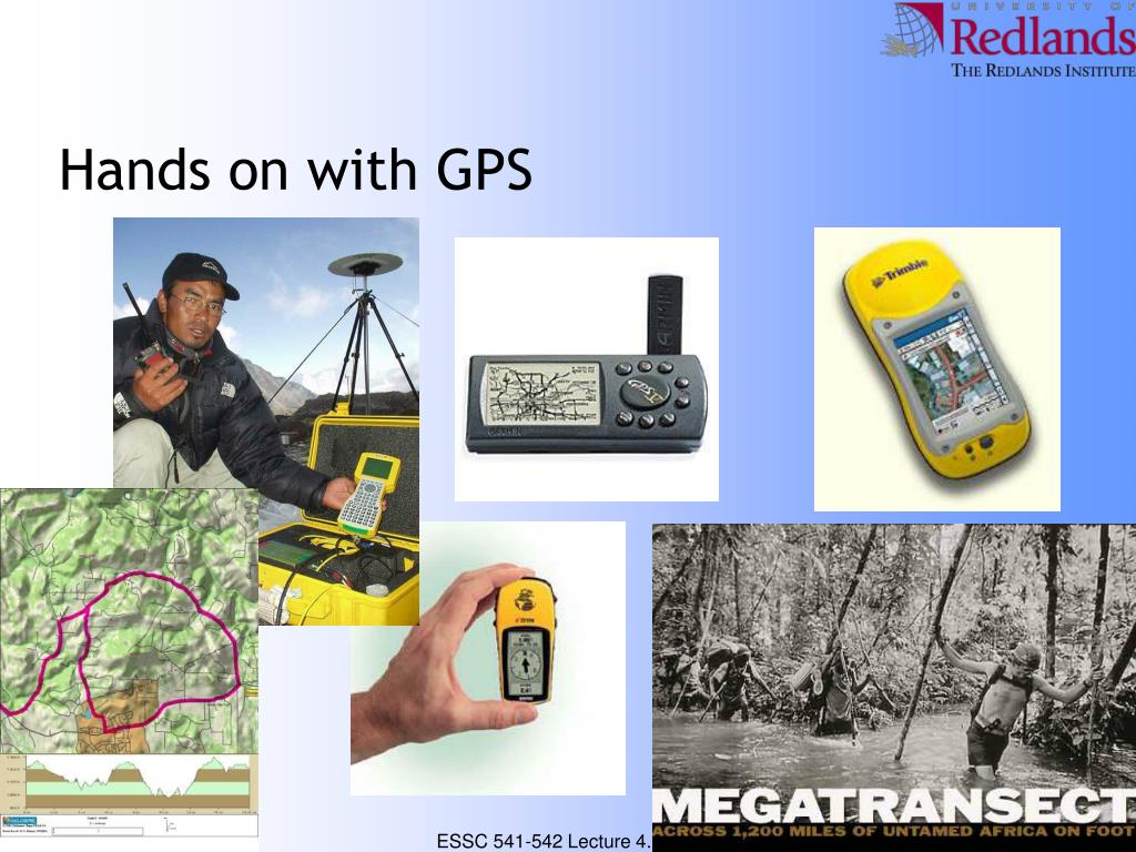 Hands on with GPS
