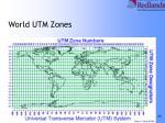 world utm zones