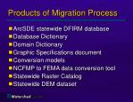 products of migration process