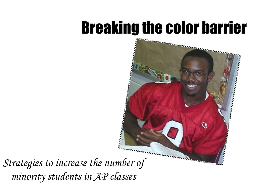 strategies to increase the number of minority students in ap classes l.