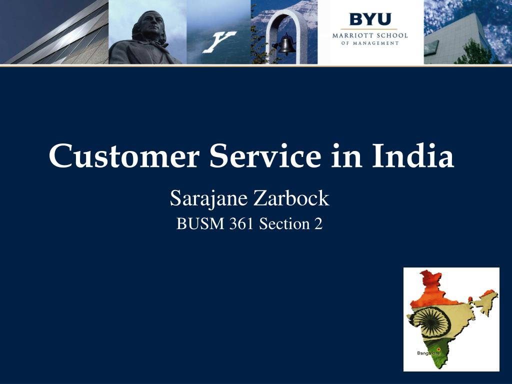 customer service in india l.