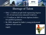 shortage of talent17