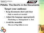 pitfalls the devil s in the documents28