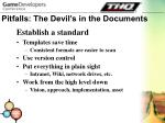 pitfalls the devil s in the documents29