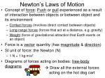 newton s laws of motion1