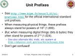 unit prefixes