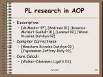 pl research in aop