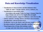 data and knowledge visualization