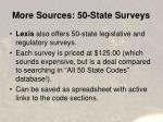 more sources 50 state surveys42