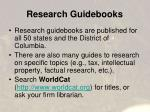 research guidebooks